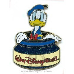 Disney Donald Pin - Inkwell