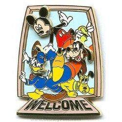 Disney Create-A-Pin - Welcome