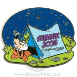 Disney Summer Pin - Goofy Camping