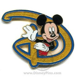 Disney Mickey Pin - Disney D