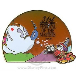 Disney Festival of the Masters Pin - 2006 Logo