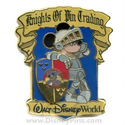 Disney Knights of Pin Trading Pin - Mickey Mouse