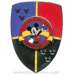Disney Knights of Pin Trading Pin - Silver Shield