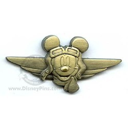 Disney Mickey Pin - Aviator