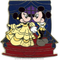 Disney Couples Pin - Beauty and the Beast