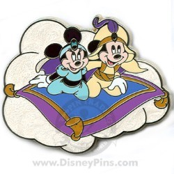 Disney Couples Pin - Aladdin and Jasmine
