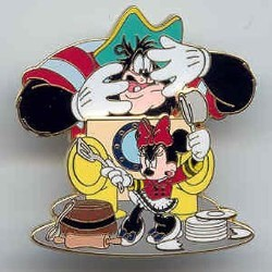 Disney Minnie Pin - Rescue Captain Mickey