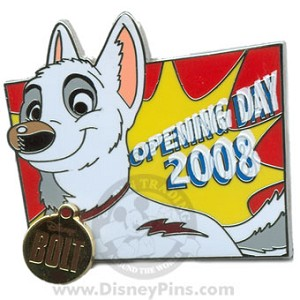 Disney Bolt Pin - Opening Day