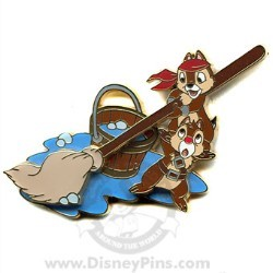 Disney Pirates Pin - Life for Me - Chip and Dale