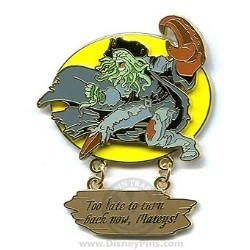 Disney Pirates Pin - Davy Jones