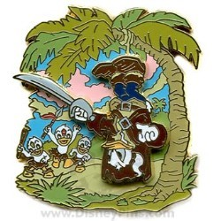 Disney Pirates Pin - Donald Duck as Will Turner