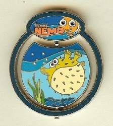 Disney Finding Nemo Pin - Nemo & Bloat Spinner