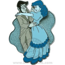 Disney The Haunted Mansion Pin - Friday the 13th - Ballroom Dancers