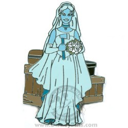 Disney The Haunted Mansion Pin - Bride