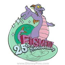 Disney Figment Pin - 25th Anniversary