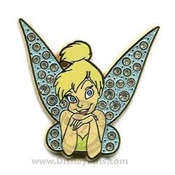 Disney Tinker Bell Pin - Jeweled Wings