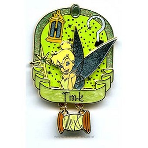 Disney Tinker Bell Pin - Tink Icons