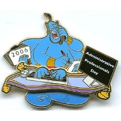 Disney Administrative Professionals Day Pin - Genie