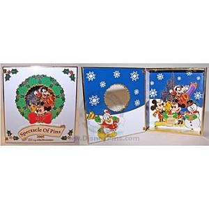 Disney Jumbo Pin - Spectacle of Pins - Mickey & the Gang Card