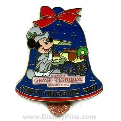 Disney Happy Holidays Pin - Disney's Grand Floridian Resort & Spa