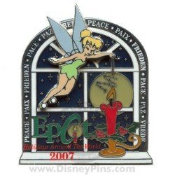 Disney Holidays Around The World Pin - Tinker Bell