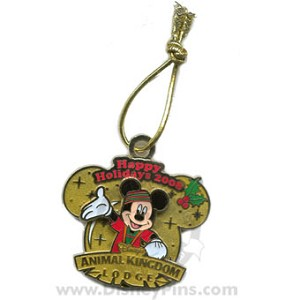 Disney Happy Holidays Pin - 2008 - Animal Kingdom Lodge
