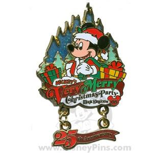 disney mickeys very merry christmas party 2008 pin santa mickey mouse - Merry Christmas Mickey Mouse