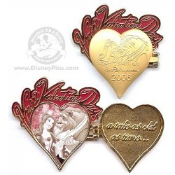 Disney Valentine's Day Pin - Belle and the Beast