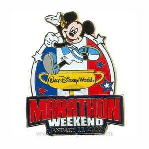 Disney Marathon Pin - 2009 Walt Disney World Marathon