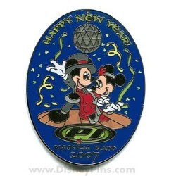 disney happy new year pin pleasure island