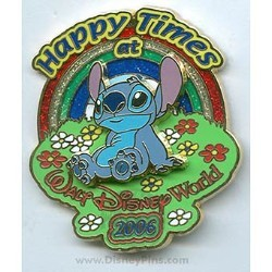 Disney Stitch Pin - Happy Times