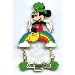 Disney St. Patrick's Day Pin - Mickey Mouse