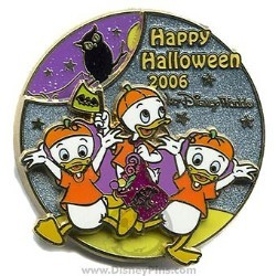 Disney Trick or Treat 2006 Pin - Huey, Duey and Louie