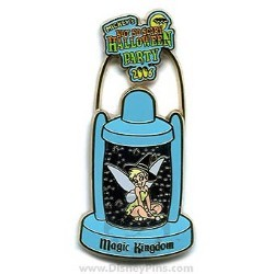 Disney Halloween Party 2006 Pin - Tinker Bell Lantern