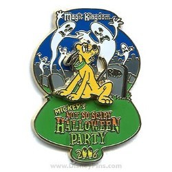 Disney Halloween Party 2006 Pin - Pluto