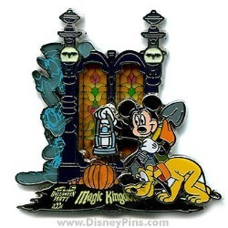 Disney Halloween Party 2006 Pin - Passholder Exclusive