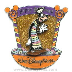 Disney Happy Halloween Pin - Candy Characters - Goofy