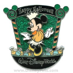 Disney Happy Halloween Pin - Candy Characters - Minnie