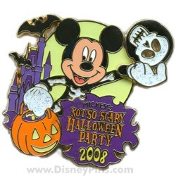 Disney Not So Scary Halloween Party Pin - 2008 - Logo