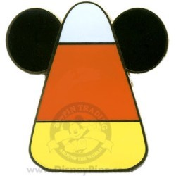 Disney Halloween Pin - Mickey Mouse - Candy Corn
