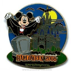 Disney Haunted Parks 2006 Pin - Mickey Mouse