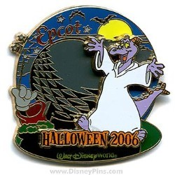 Disney Haunted Parks 2006 Pin - Figment