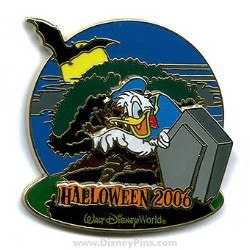 Disney Haunted Parks 2006 Pin - Donald Duck