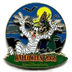 Disney Haunted Parks 2006 Pin - Goofy