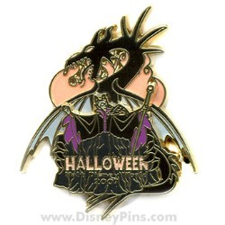 Disney Halloween Pin - Villains Collection - Maleficent
