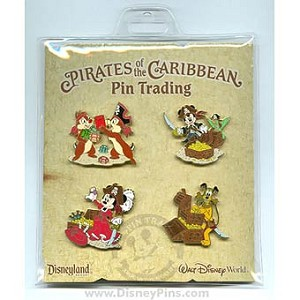 Disney Booster Pin Collection - Pirates of the Caribbean