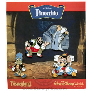 Disney Booster Pin Collection - Walt Disney's Pinocchio