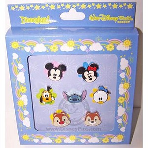 Disney Boxed Pin Set - Cute Characters - Faces of Mickey & Friends