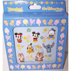 Disney Boxed Pin Set - Cute Characters - Mickey Mouse and Friends