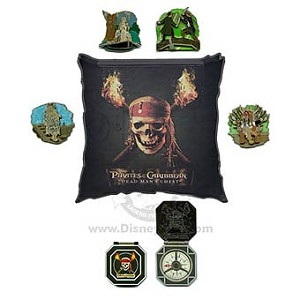 Disney Boxed Pin Set - Pirates of the Caribbean: Dead Man's Chest